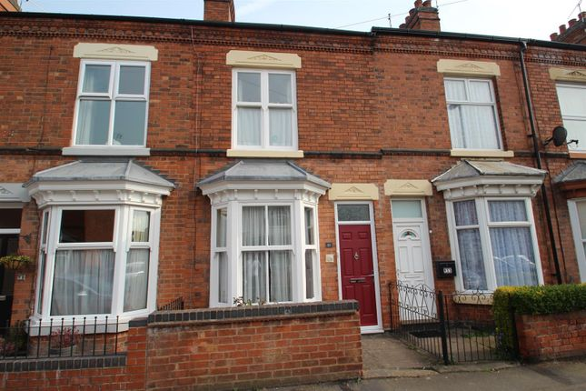 Thumbnail 2 bed terraced house for sale in Sandford Road, Syston, Leicester