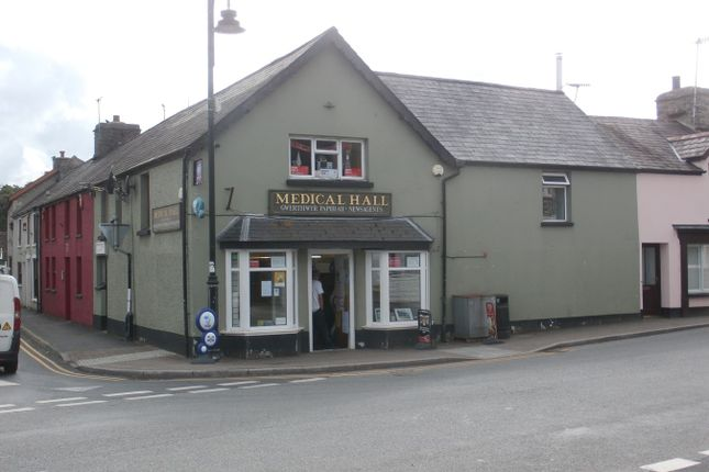 Thumbnail Retail premises for sale in Station Road, Tregaron