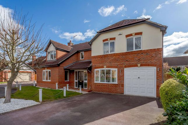 5 bed detached house for sale in Hargreaves Close, Littleover, Derby, Derbyshire DE23