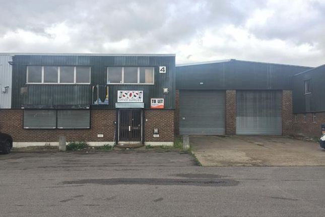 Thumbnail Office to let in Unit 4 Thistlebrook Industrial Estate, Eynsham Drive, Abbey Wood