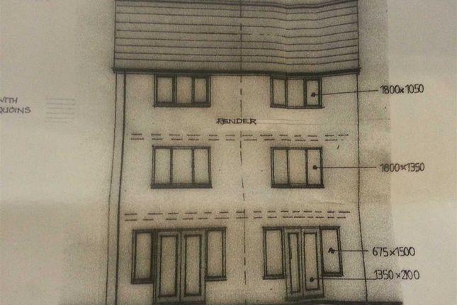 Rear View of Hendrefadog Street, Tylorstown, Ferndale CF43