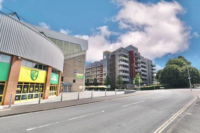 1 bed flat for sale in Geoffrey Watling Way, Norwich NR1