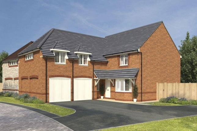 """Thumbnail Detached house for sale in """"Rothbury"""" at High Street, Watchfield, Swindon"""
