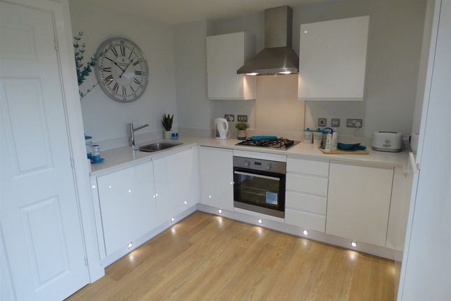 """Thumbnail Semi-detached house for sale in """"The Avebury"""" at Northborough Way, Boulton Moor, Derby"""