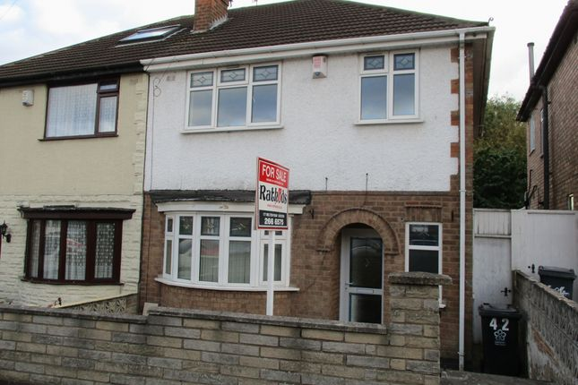 Thumbnail Semi-detached house for sale in Babingley Drive, Leicester