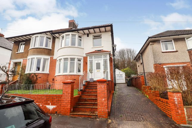 Thumbnail Semi-detached house for sale in Dorchester Avenue, Cardiff