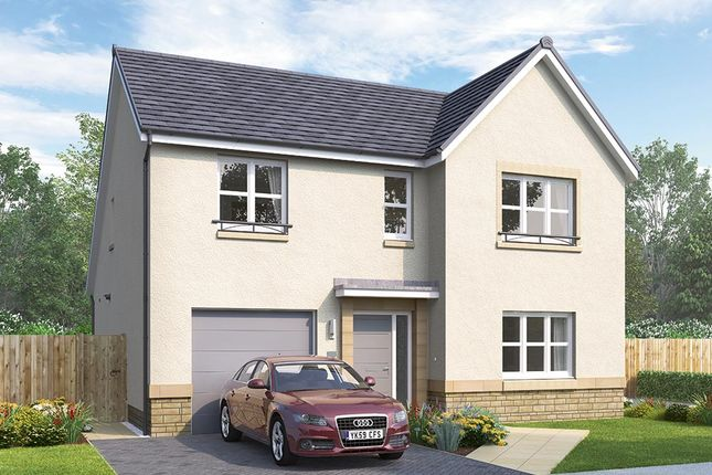 "Thumbnail Detached house for sale in ""The Overbury"" at Mauricewood Road, Penicuik"
