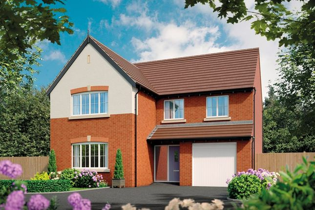 Thumbnail Detached house for sale in The Spinney, Otley Road, Shrewsbury, Shropshire
