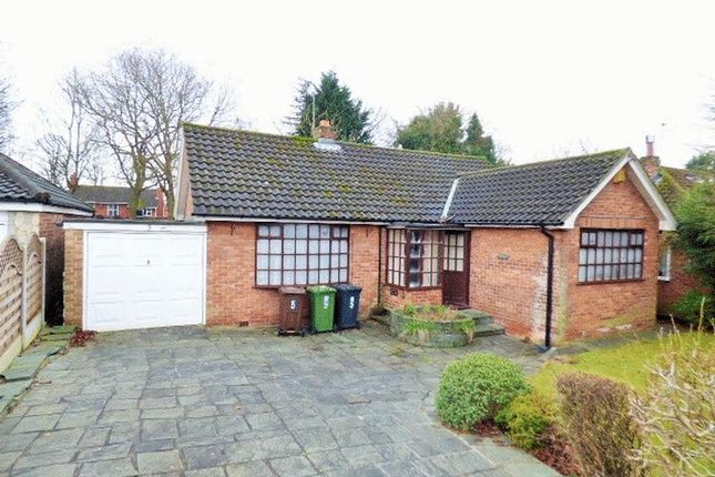 Thumbnail Detached bungalow for sale in Waltho Avenue, Maghull, Liverpool
