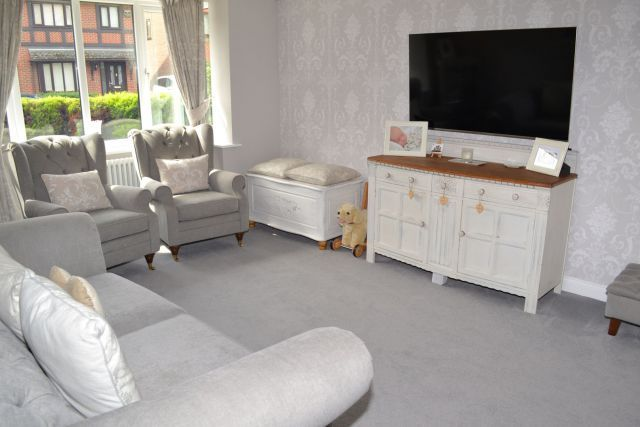 Lounge of Attlee Close, Spinney Hill, Northampton NN3