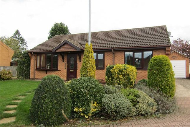 Thumbnail Detached bungalow for sale in Nursery Close, Bottesford, Scunthorpe