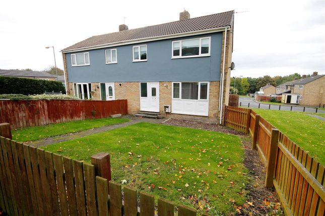 Thumbnail Semi-detached house for sale in Hemmel Courts, Brandon, County Durham