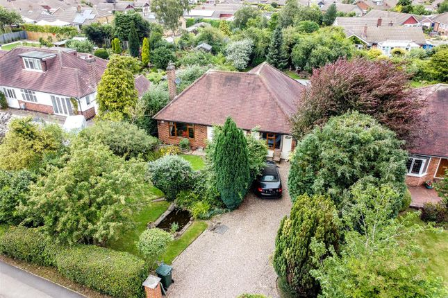 Thumbnail Detached bungalow for sale in Selby Lane, Keyworth, Nottingham