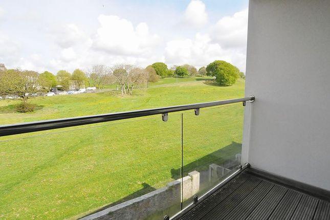 Balcony of Monroe Gardens, Plymouth PL3