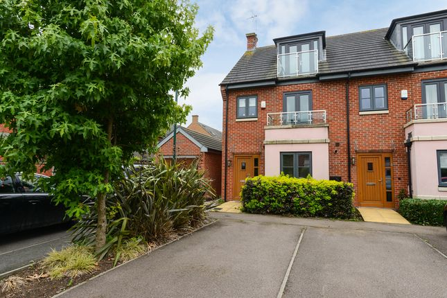 Thumbnail End terrace house for sale in Ferryman Road, Wilford Place