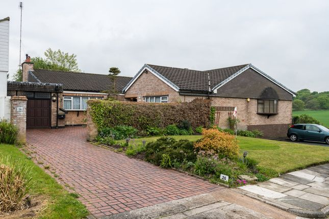 Thumbnail Detached bungalow for sale in Eccleston Gardens, Eccleston Hill, St Helens