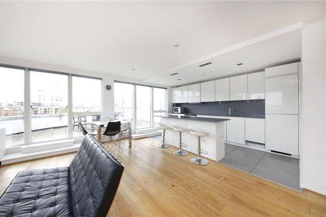 Thumbnail Flat to rent in Caspian Wharf, Yeo Street, Bow, London