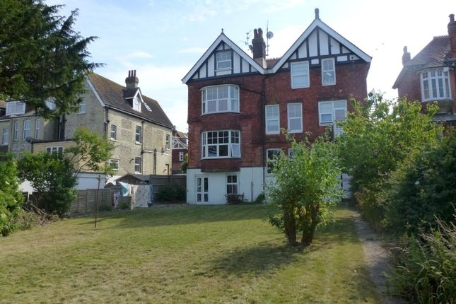 Thumbnail Flat to rent in Carew Road, Eastbourne