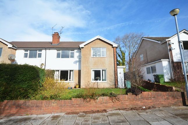 Thumbnail Maisonette for sale in Claerwen Drive, Cyncoed, Cardiff