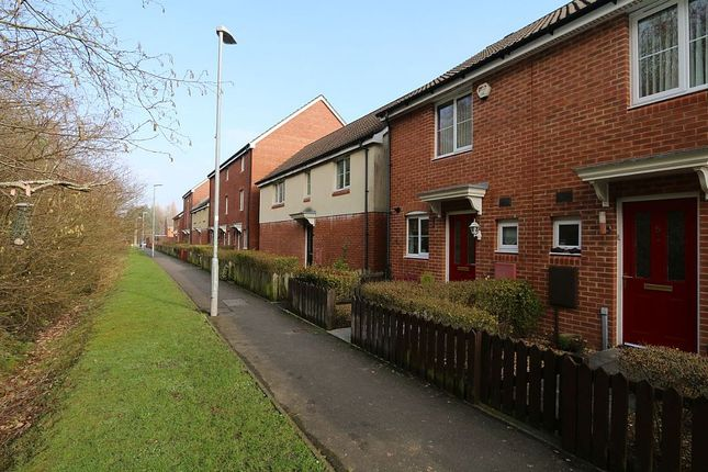 Thumbnail End terrace house for sale in Woodland Walk, Mid Glamorgan, Merthyr Tydfil
