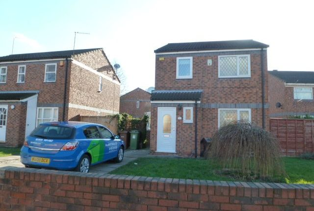 Thumbnail Detached house to rent in Howden Way, Eastmoor, Wakefield