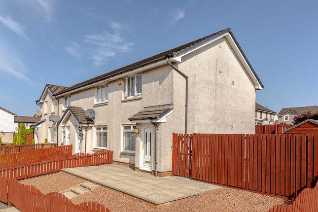 Thumbnail End terrace house for sale in Ash Grove, Blackburn, Bathgate