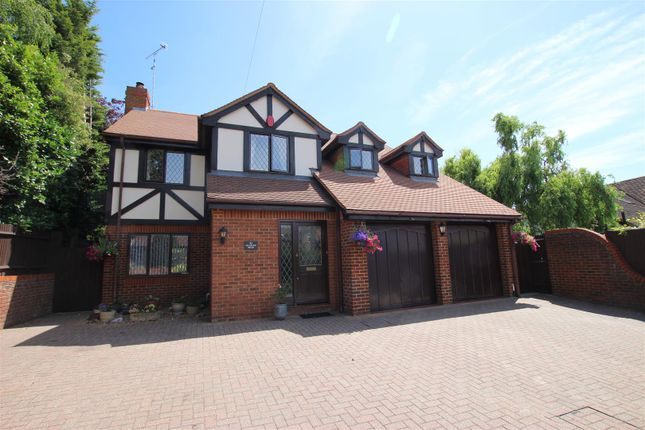 Thumbnail Detached house for sale in Vicarage Road, Silsoe, Bedford