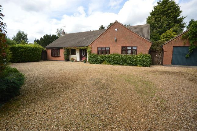 Thumbnail Detached bungalow for sale in Station Road, Broughton Astley