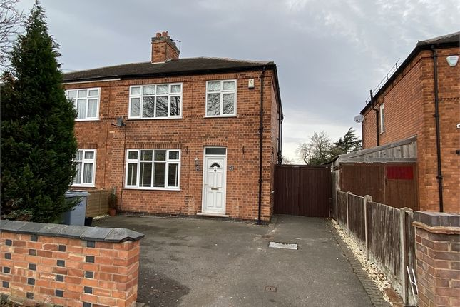 Semi-detached house for sale in Windsor Avenue, Newark, Nottinghamshire.