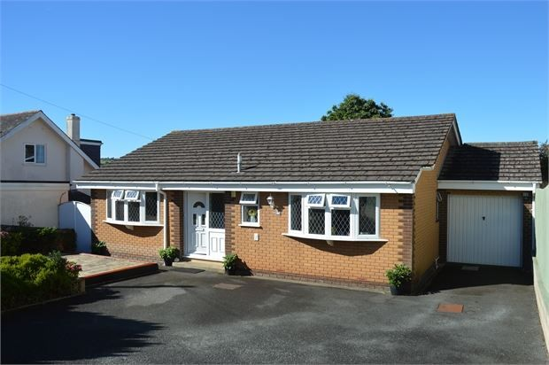 Thumbnail Detached bungalow for sale in Southey Lane, Kingskerswell, Newton Abbot, Devon.
