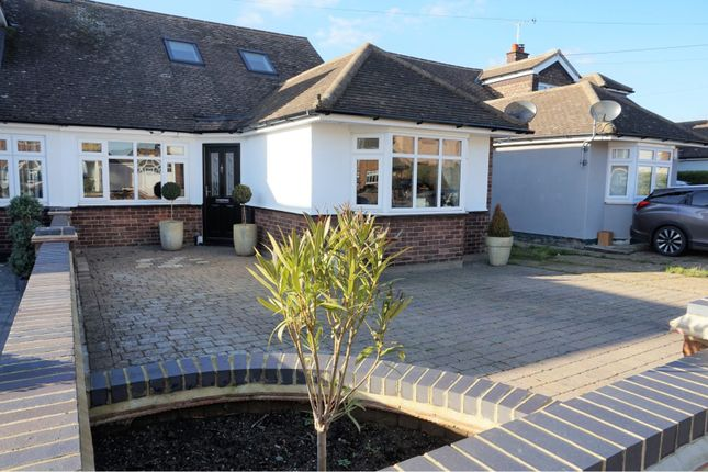 Thumbnail Semi-detached bungalow for sale in Clavering Gardens, Brentwood