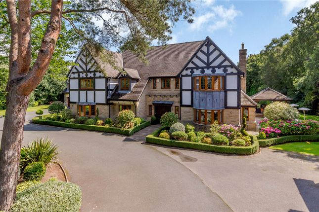 Thumbnail Detached house for sale in The Manor, Manor House Lane, Alwoodley, Leeds, West Yorkshire