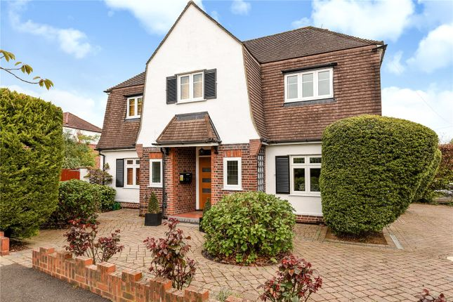 Thumbnail Detached house for sale in Rosecroft Walk, Pinner, Middlesex