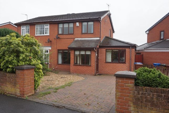 Thumbnail Semi-detached house for sale in Netherley Road, Coppull