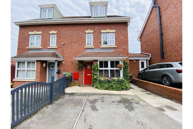 Thumbnail Semi-detached house for sale in Cooks Gardens, Hull