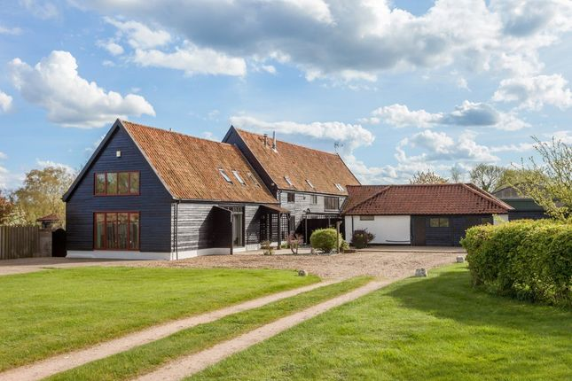Thumbnail Barn conversion for sale in Sisland, Norwich