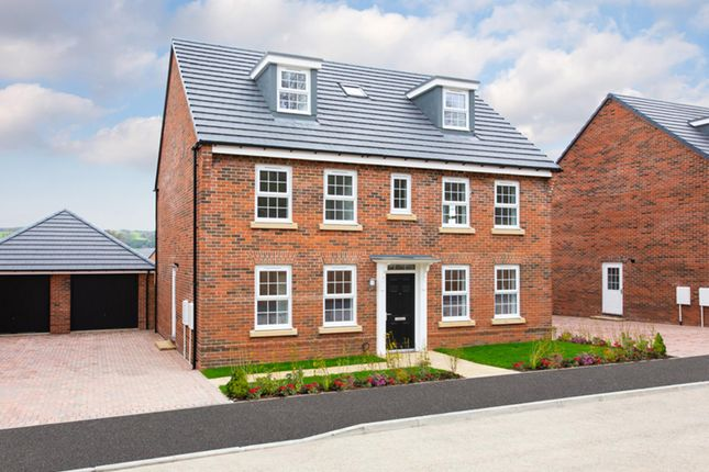 "Thumbnail Detached house for sale in ""Buckingham"" at Tamora Close, Heathcote, Warwick"