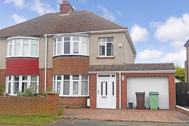 Thumbnail Semi-detached house for sale in Heather Drive, Maidstone, Kent