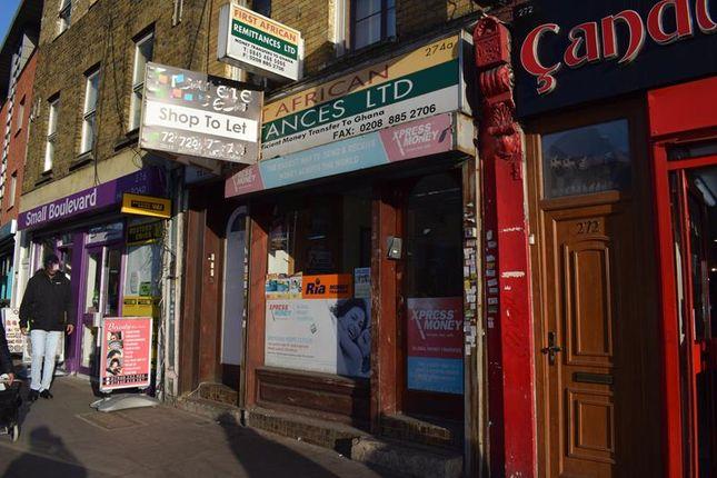 Thumbnail Retail premises to let in 274 High Road, Tottenham, London