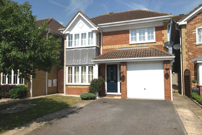 Thumbnail Detached house to rent in Swallow Close, Bicester