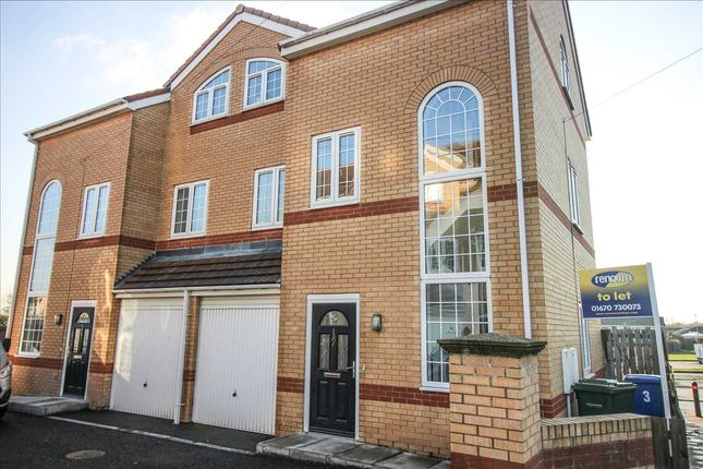 Thumbnail Semi-detached house to rent in Cramond Way, Collingwood Grange, Cramlington