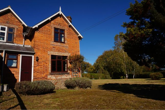 Thumbnail Semi-detached house for sale in Buckton, Craven Arms