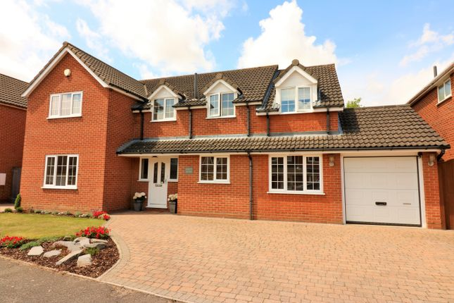Thumbnail Detached house for sale in Allwood Avenue, Scarning