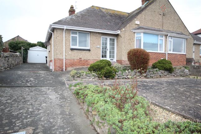 Thumbnail Semi-detached bungalow for sale in 31 Morfa Road, Penrhyn Bay, Llandudno