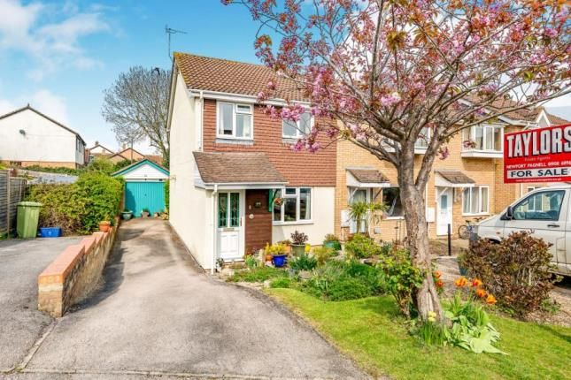 Thumbnail End terrace house for sale in Fishermans Close, Olney