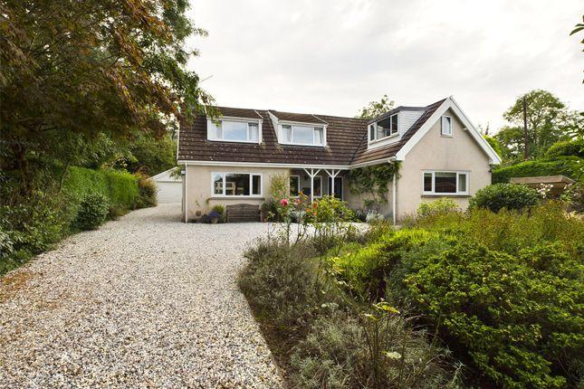 Thumbnail Detached house for sale in Llangattock, Crickhowell, Powys