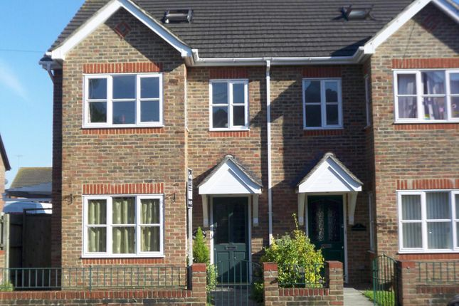 Thumbnail Semi-detached house to rent in Richmond Cottages, High Street, Partridge Green