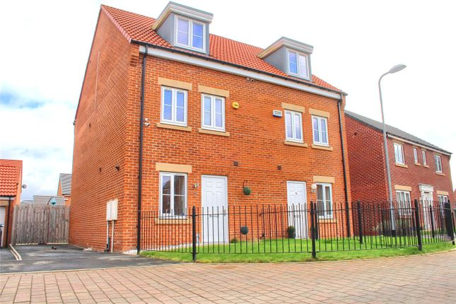 3 bed semi-detached house to rent in Lynx Way, Stockton-On-Tees TS18