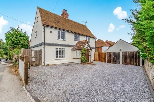 Thumbnail Detached house for sale in School Lane, Newington, Sittingbourne, Kent