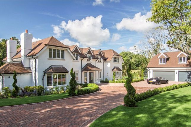 Thumbnail Detached house for sale in Church Lane, Finchampstead, Wokingham